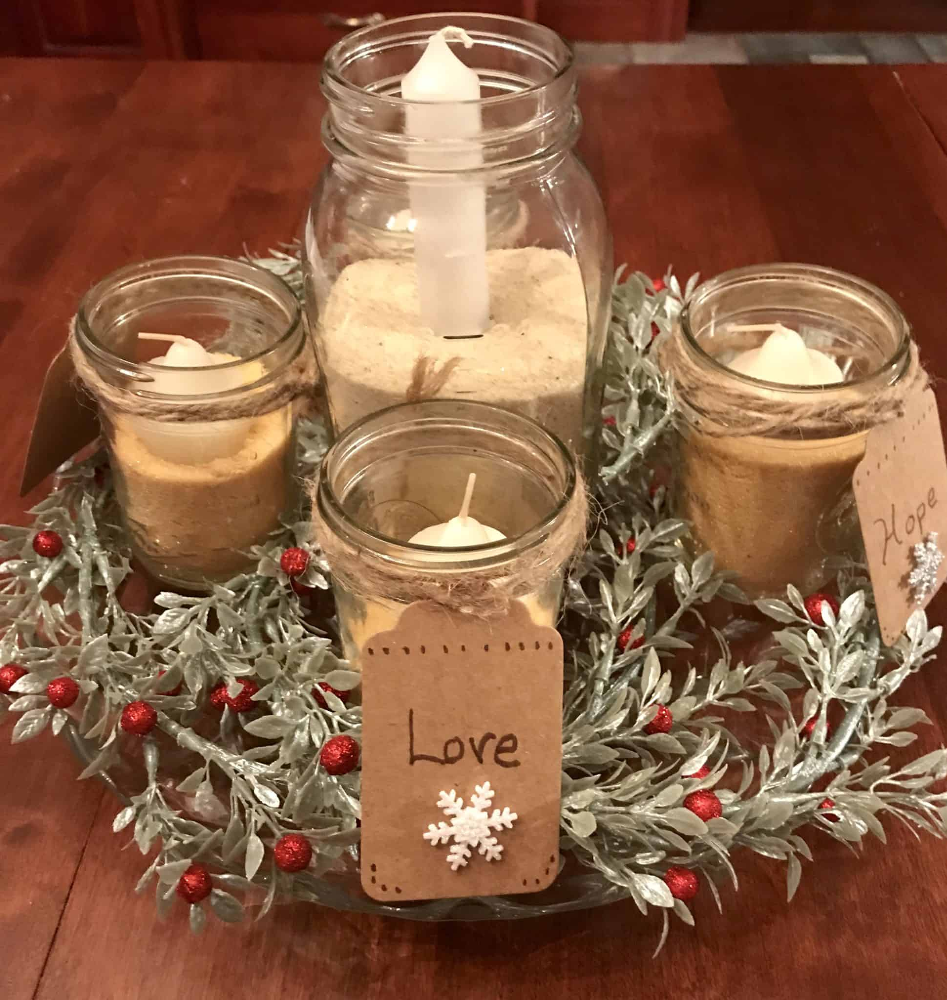 How To Make An Advent Wreath For 10 Or Less A Mother S Random Thoughts