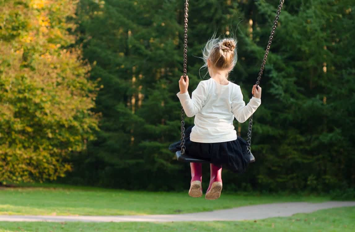 Struggling with Intertility: Know Your Options; Girl on Swing