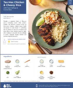 MEAL DELIVERY SERVICE REVIEW: BLUE APRON – THE GOOD, THE BAD AND THE UGLY