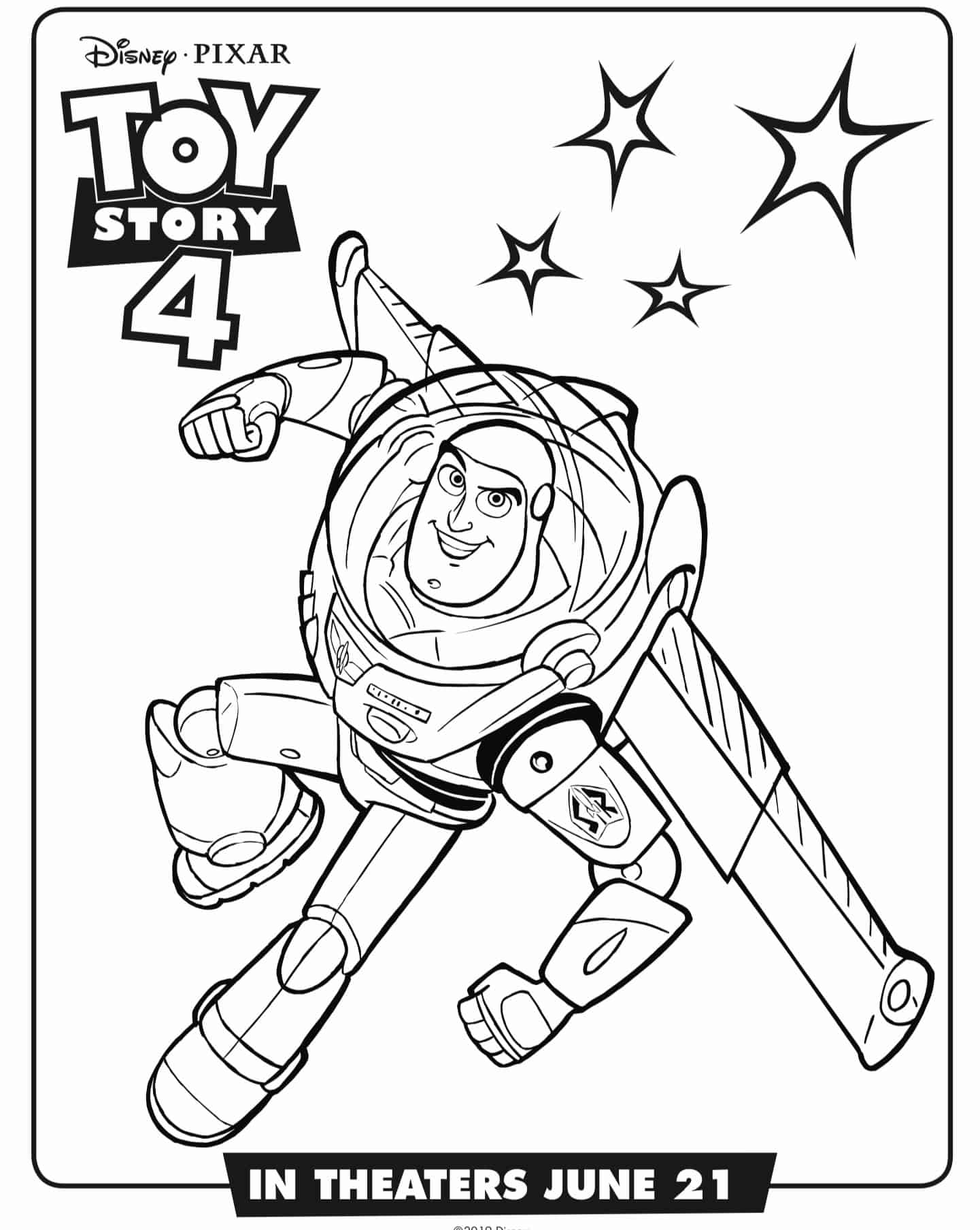 Toy Story 4 Movie Activity Sheets and Coloring Pages - A ...