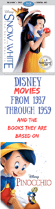 List of Disney Movies in Chronological Order – Part 1: 1930's through the 1950's