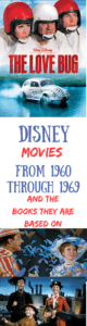 List of Disney Movies in Chronological Order – Part 2: 1960's
